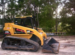 Site Grading with the skidsteer
